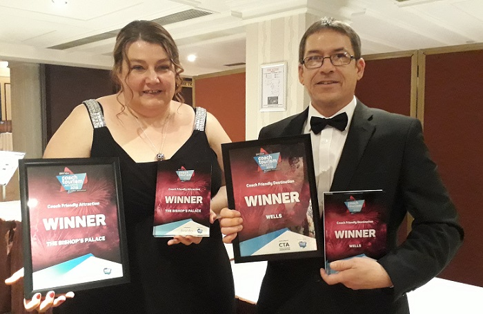 Double delight as city scoops prized awards