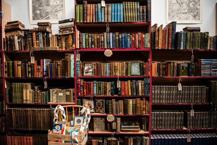 Room provides showcase for treasures of the book world