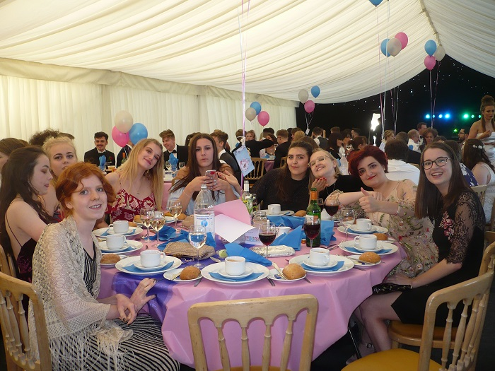 Wells Blue School Leavers Ball in pictures