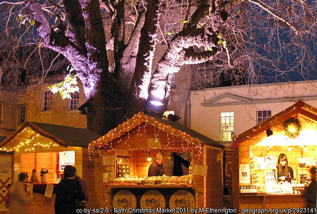 Chalets one idea to create more 'Christmassy' Christmas market