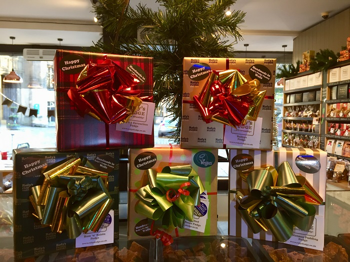 Win a fabulous box of fudge for Christmas