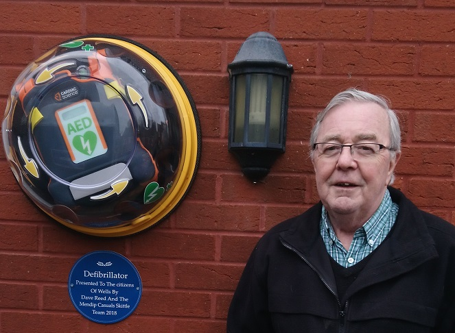 Dave pays for new defibrillator after his own heart scare