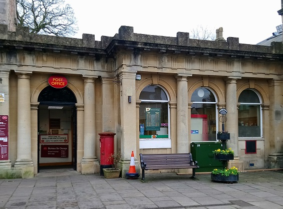 Wells faces temporary loss of city centre post office services