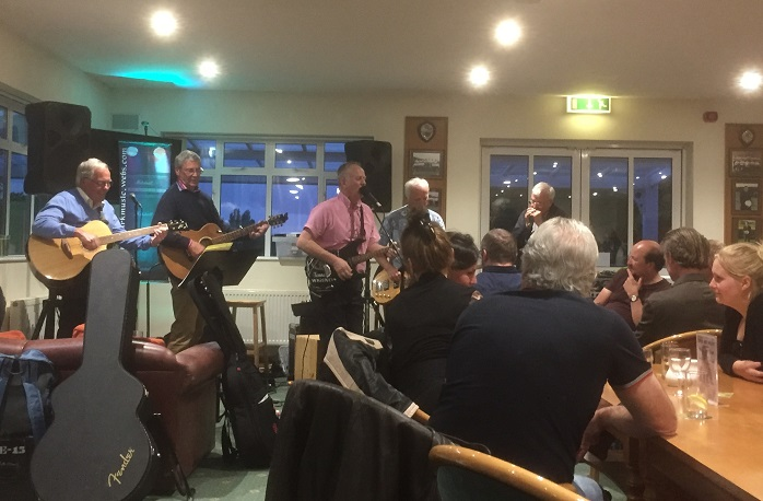 Golf club hosts its first Open Mic Night