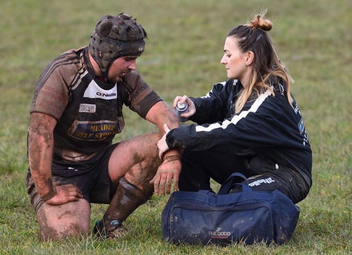 Physio will be missed when rugby re-starts
