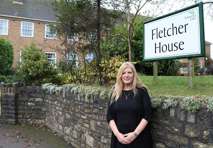 Fletcher House manager Trudy Bower
