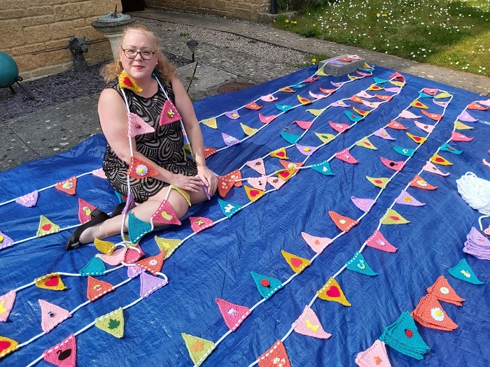 Bunting set to spread cheer far and wide