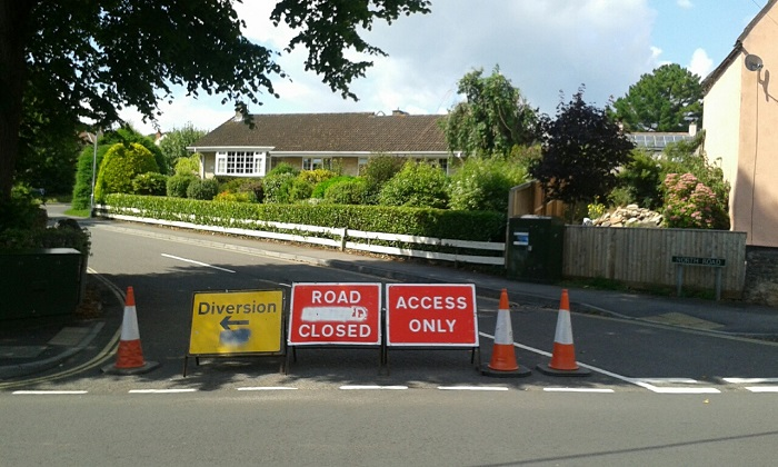 Roads shut for weeks as gas pipes updated