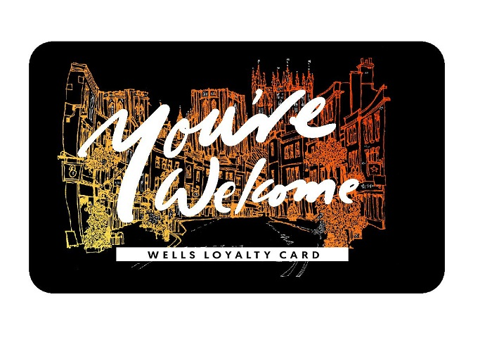The new Wells loyalty card