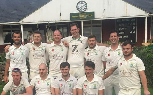 Wells cricketers win league title for second year in a row
