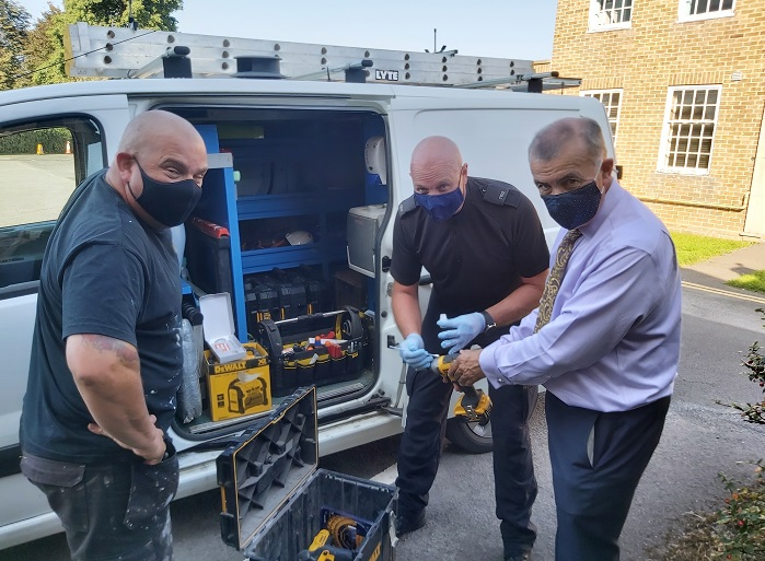 On the Beat: Action to combat tool theft