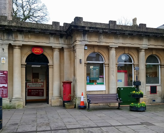 Wells Post Office in Market Place
