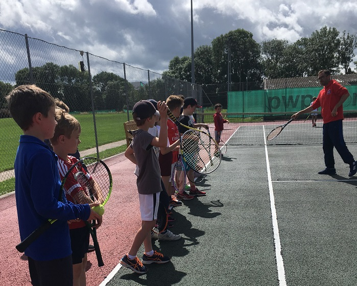 Great British Tennis Event at Wells