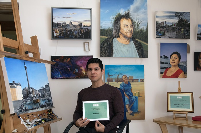 Pilton artist is People's Choice at Wells event for second year in a row