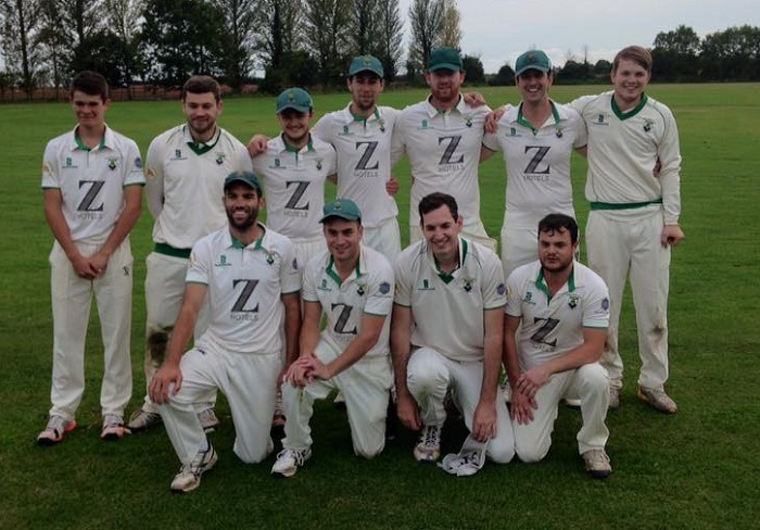 Wells cricketers celebrate promotion success