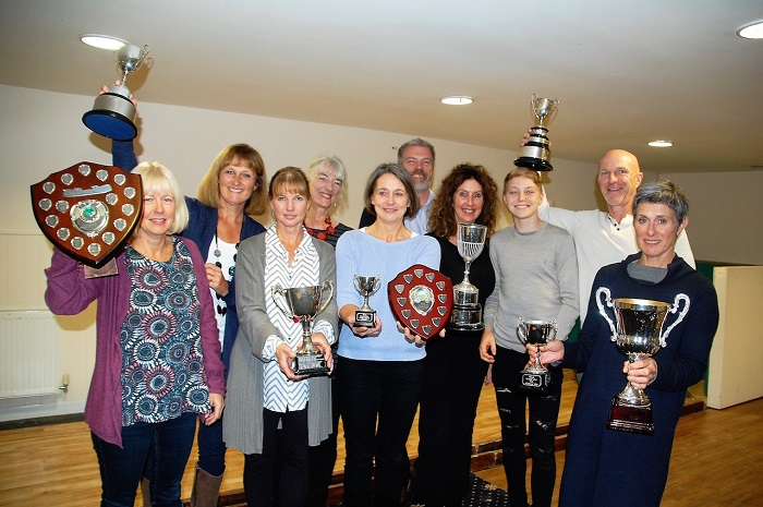 Winners celebrate triumphs at presentation night